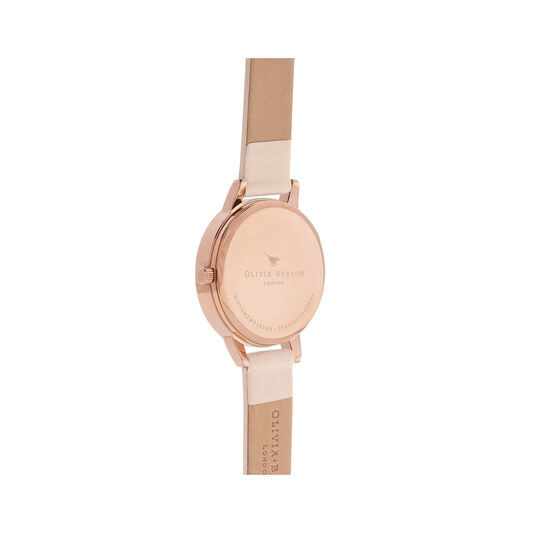 Midi Dial Nude Peach & Rose Gold Watch