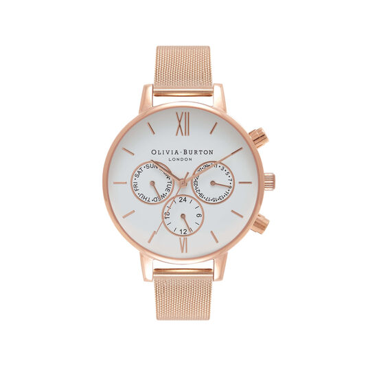 Olivia Burton Chrono Detail Rose Gold Watch