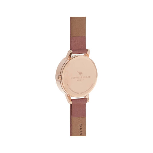 Midi Dial Rose And Rose Gold Watch