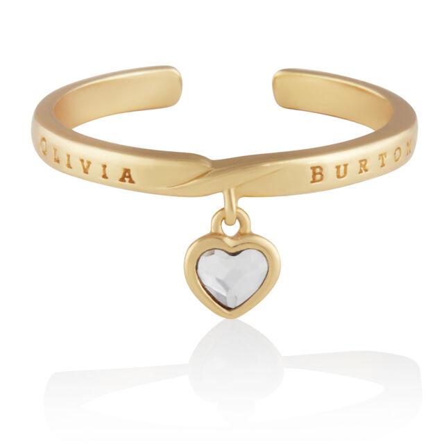 Interlink Heart Gift Set Gold