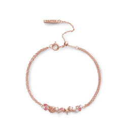 Under The Sea Chain Bracelet Rose Gold
