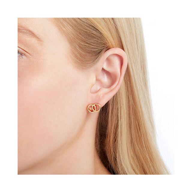 Classics Interlink Gold Earrings