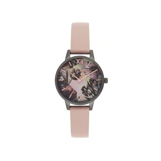 Twilight Midi Dial Watch with gray Mother-Of-Pearl