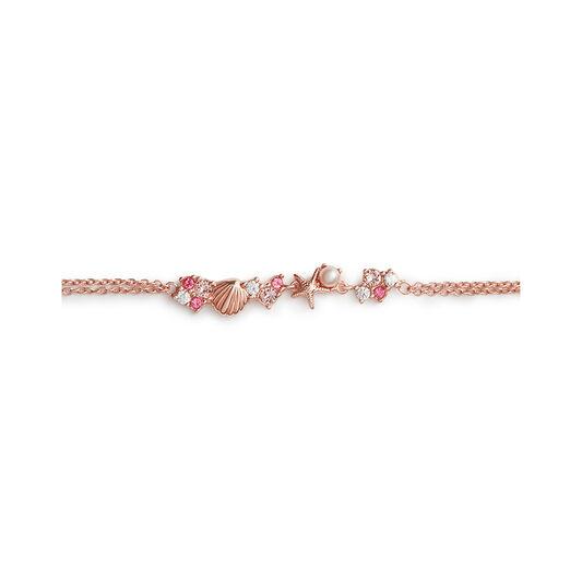 Under The Sea Chain Bracelet Rose Gold