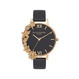 Case Cuff Black Dial and Gold