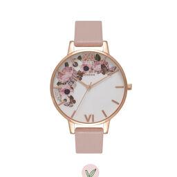 Vegan Friendly Rose Sand & Rose Gold Watch