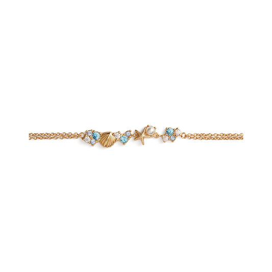 Under The Sea Chain Bracelet Gold