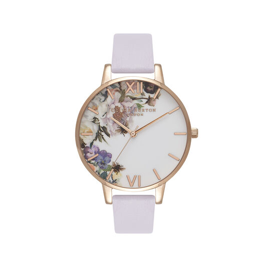 Enchanted Garden Parma Violet & Rose Gold