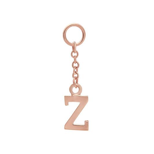 Initital Charm Z Rose Gold