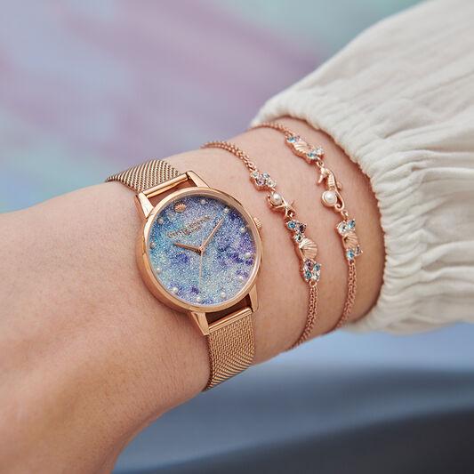 Under The Sea Chain Bracelet Gold
