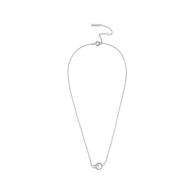 Interlink Necklace Silver