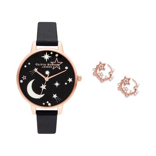 Celestial Black & Rose Gold Gift Set