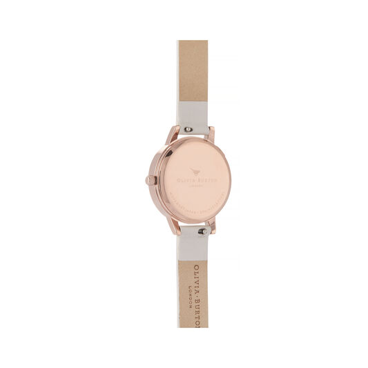 Watercolour Florals Midi Dial Watch