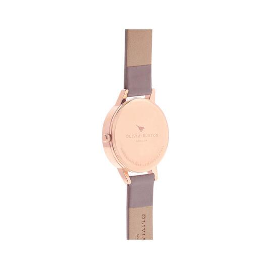 Wonderland Silver & Rose Gold Watch