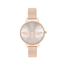 Demi Blush Dial & Rose Gold Mesh