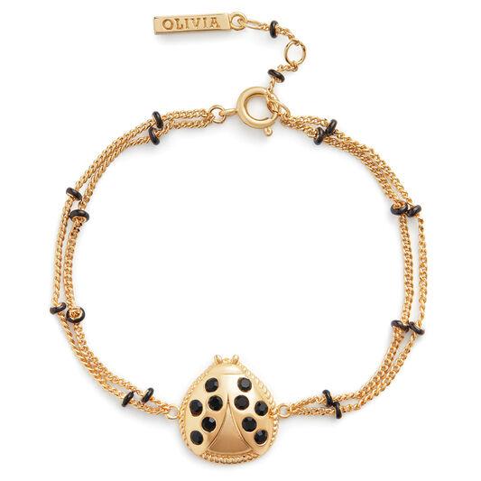 Ladybird Bracelet Gold