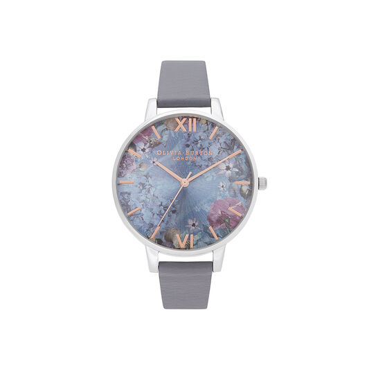 Under the Sea Eco Friendly Blue & Silver Watch