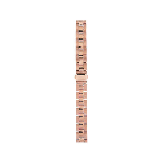 Big Dial Rose Gold Bracelet Watch Strap