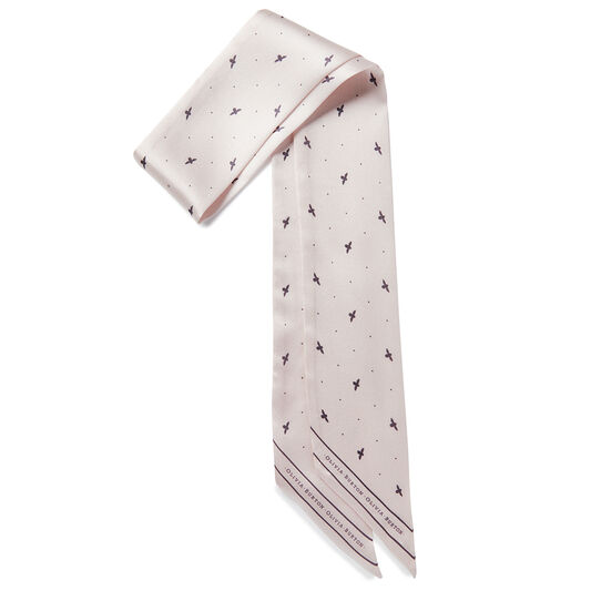 Bee & Dot Skinny Scarf Pink