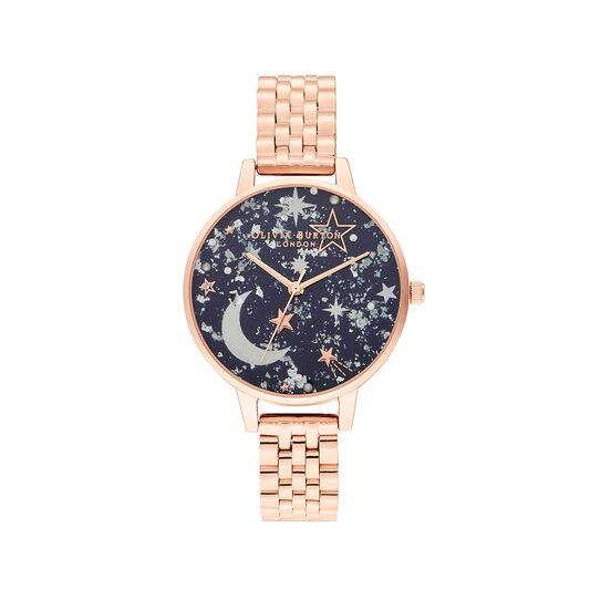 Celestial Navy & Rose Gold Bracelet