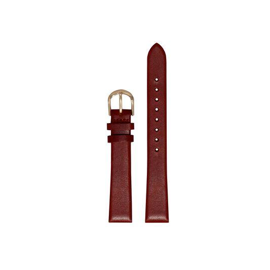 Burgundy Watch Strap