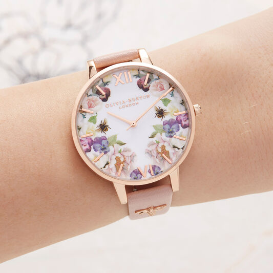 Enchanted Garden Dusty Pink & Rose Gold