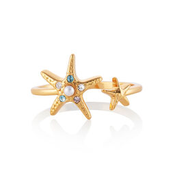 Starfish Gold Ring