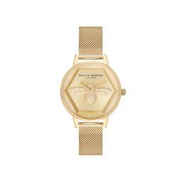 Charity Bee Watch Gold Mesh