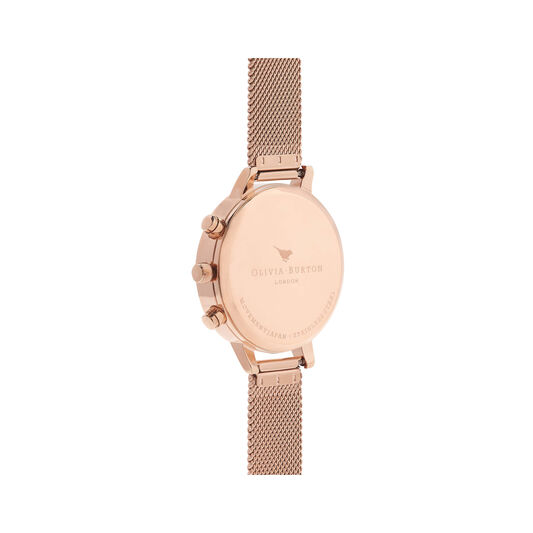 Chrono Detail Rose Gold Watch