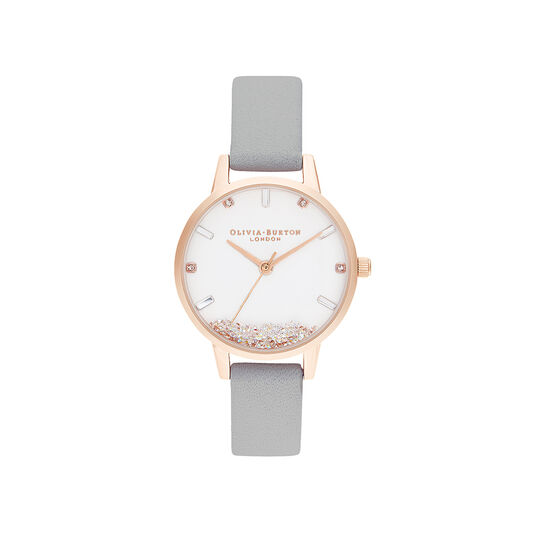 The Wishing Watch Grey & Rose Gold