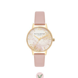 Abstract Florals Vegan Rose Sand & Gold