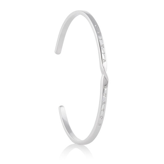 The Classics Silver Twist Bangle
