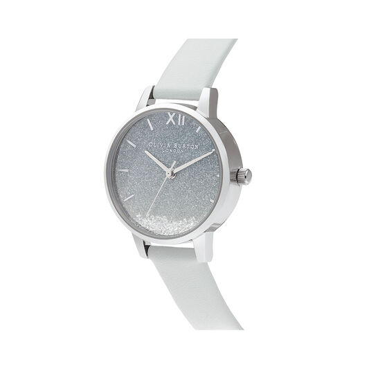 Wishing Wave Glitter Dial, Eco Friendly Light Grey & Sliver