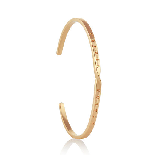 The Classics Gold Twist Bangle