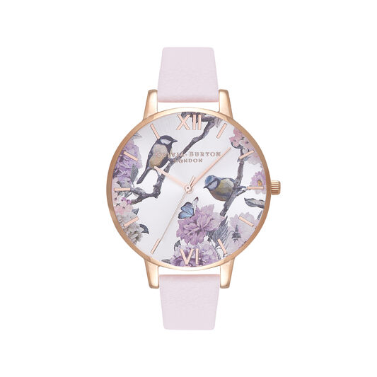 Olivia Burton Pretty Blossom Rose Gold & Blossom Watch