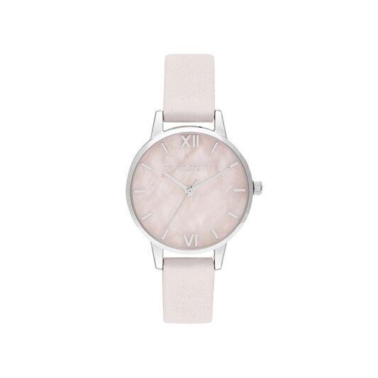 Midi Rose Quartz Blossom & Silver
