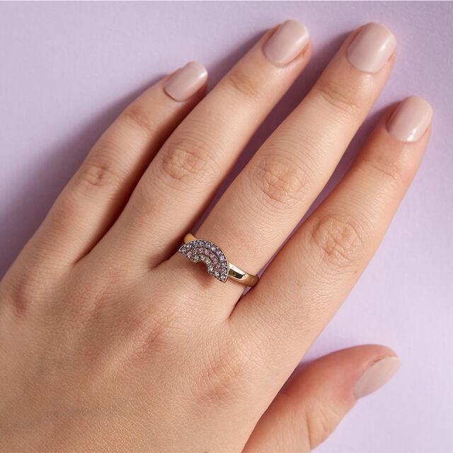 Rainbow Gold Ring