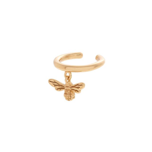 Lucky Bee Gold Ear Cuff