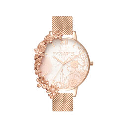 Case Cuffs Rose Gold Mesh