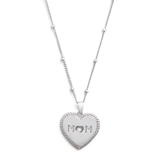 Made for Mom Necklace Silver