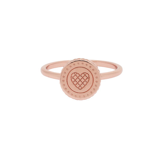 Tea Party Biscuit Rose Gold Ring