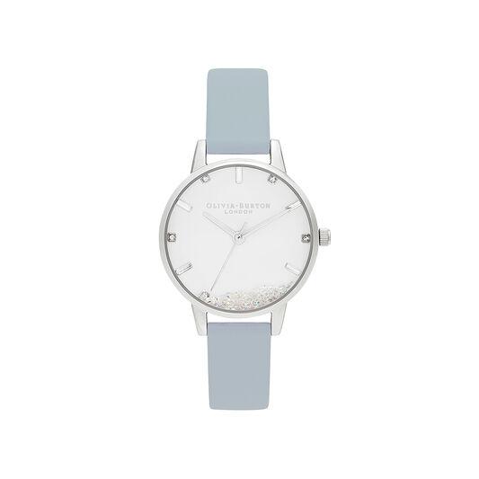 Wishing Watch Vegan Blue & Silver Watch