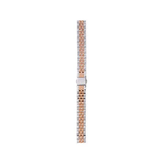 Midi/Demi Dial Silver & Rose Gold Bracelet