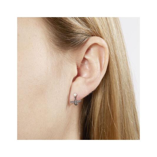 Pearl Bee Twilight Earrings