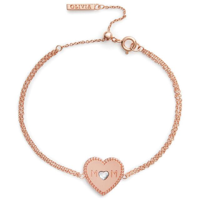 Olivia Burton Mother's Day Heart Women's Bracelet