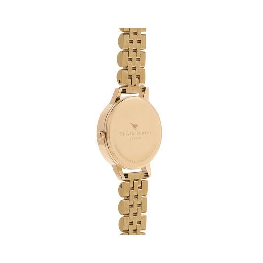 Wonderland Nude Dial & Gold Bracelet