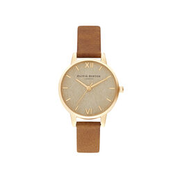 Woven Dial  Honey Tan & Pale Gold