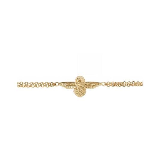 3D Bee Chain Bracelet