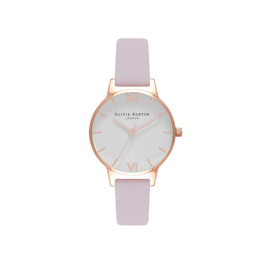 Midi Dial Blossom & Rose Gold Watch