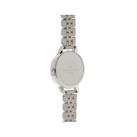 Midi Dial White Dial Rg & Silver Bracelet Watch